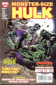 Hulk Monster-Size Special #1 (2008) Marvel comic book